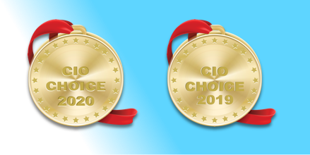 CIO Choice 2019 and 2020