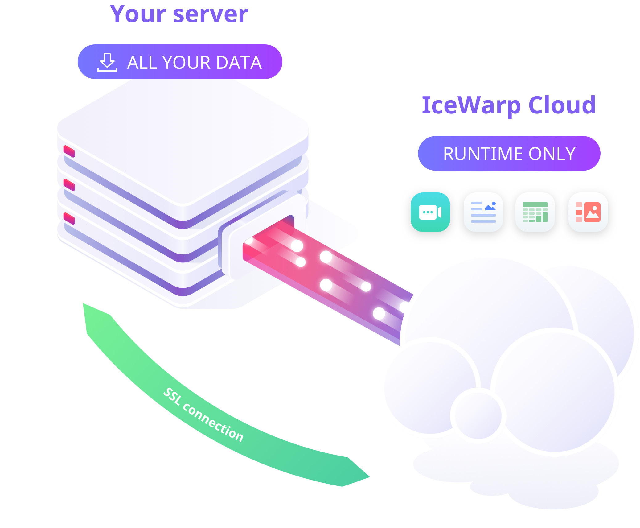 IceWarp Product Illustration